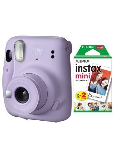 Fujifilm instax mini 11 Lila Fotoğraf Makinesi 20li Film Lila